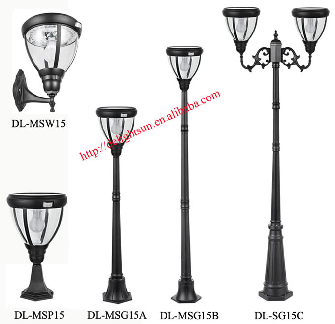 PIR Solar Post Light