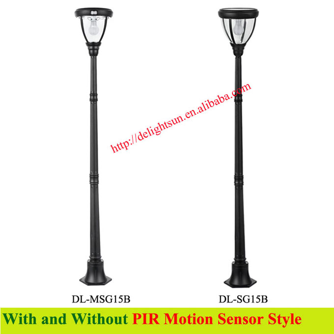 Solar Outdoor Lighting Pole