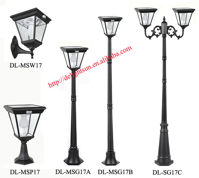Solar outdoor light with Motion Sensor Function