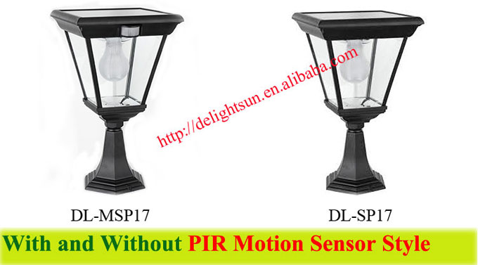 Solar Fence Lighting for Outdoor