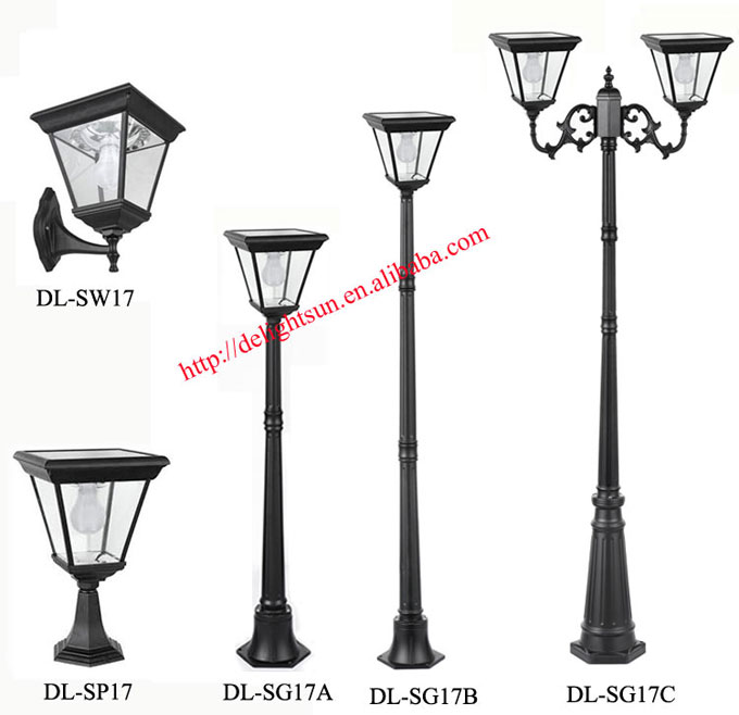 Solar Outdoor Solar Lighting Pole