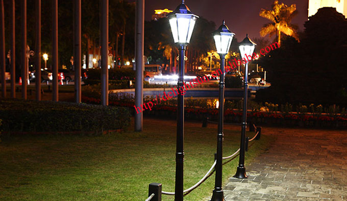 pir solar garden lighting