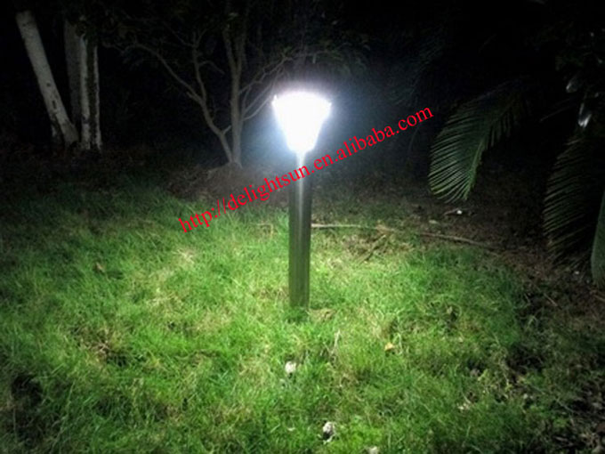 Stainless Steel PIR Solar Lawn Lights