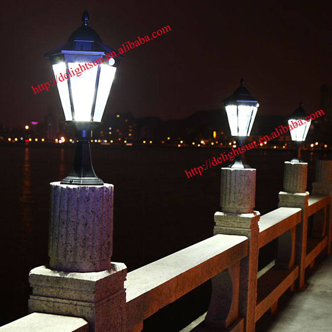 PIR 红外线太阳能壁灯