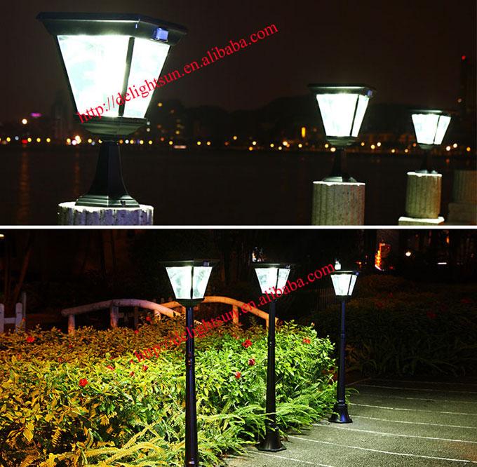 PIR 太阳能庭院灯