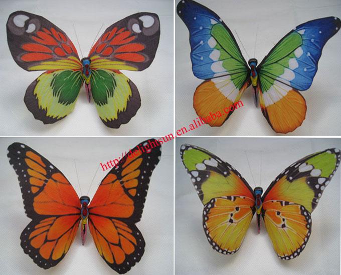 太阳能光纤蝴蝶