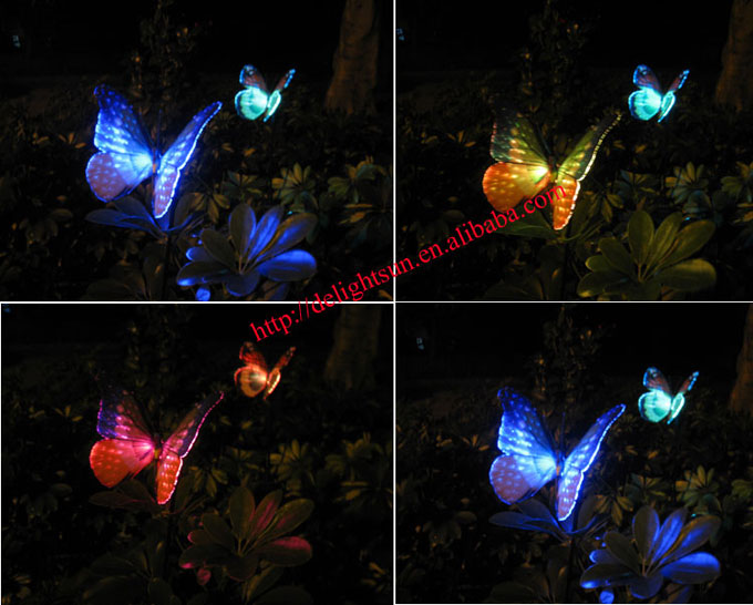 Led Solar Butterfly