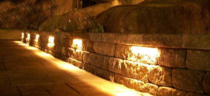 LED Retaining Wall Lights
