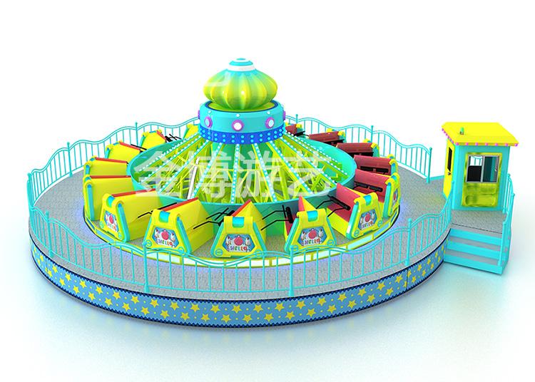 热销公园游乐设备38人风火轮